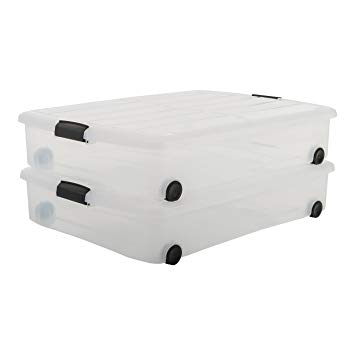 bac de rangement sous lit