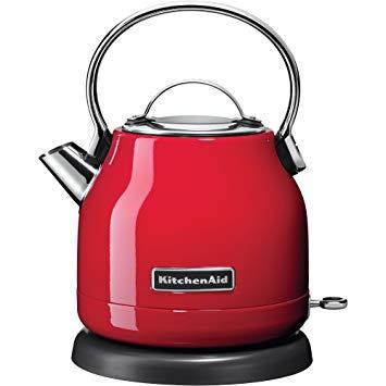 bouilloire kitchenaid rouge