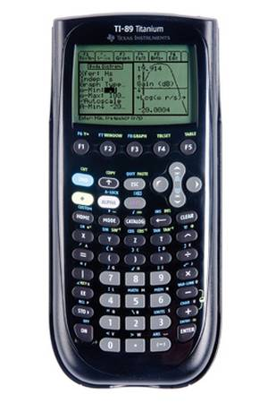calculatrice ti 89