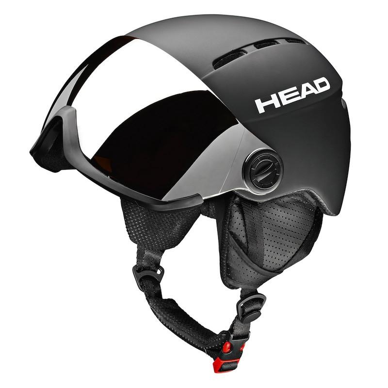 casque de ski avec visiere intégrée