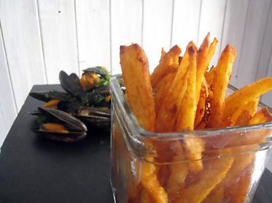 frites maison croustillantes