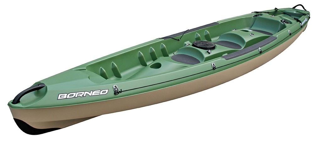 kayak 2 places rigide