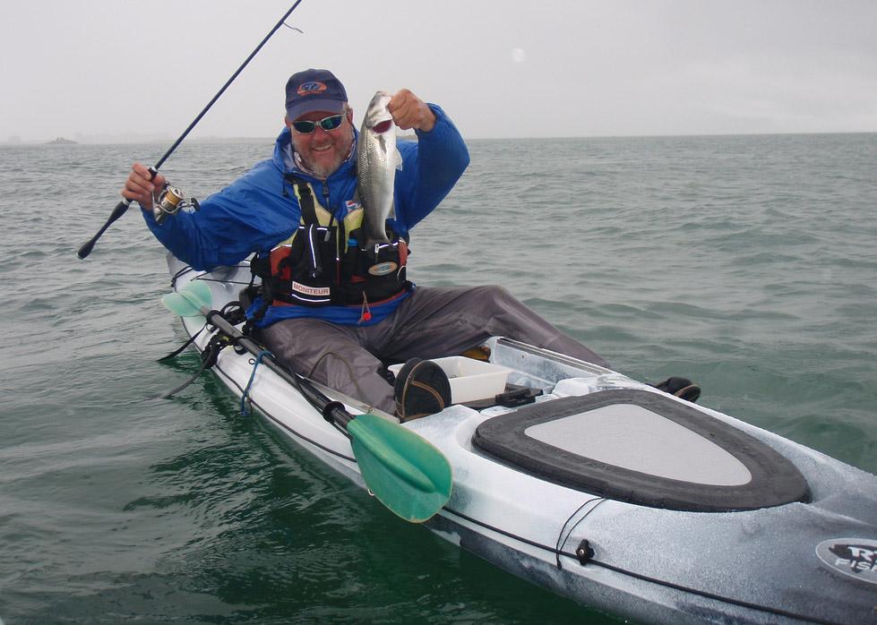 kayak peche mer