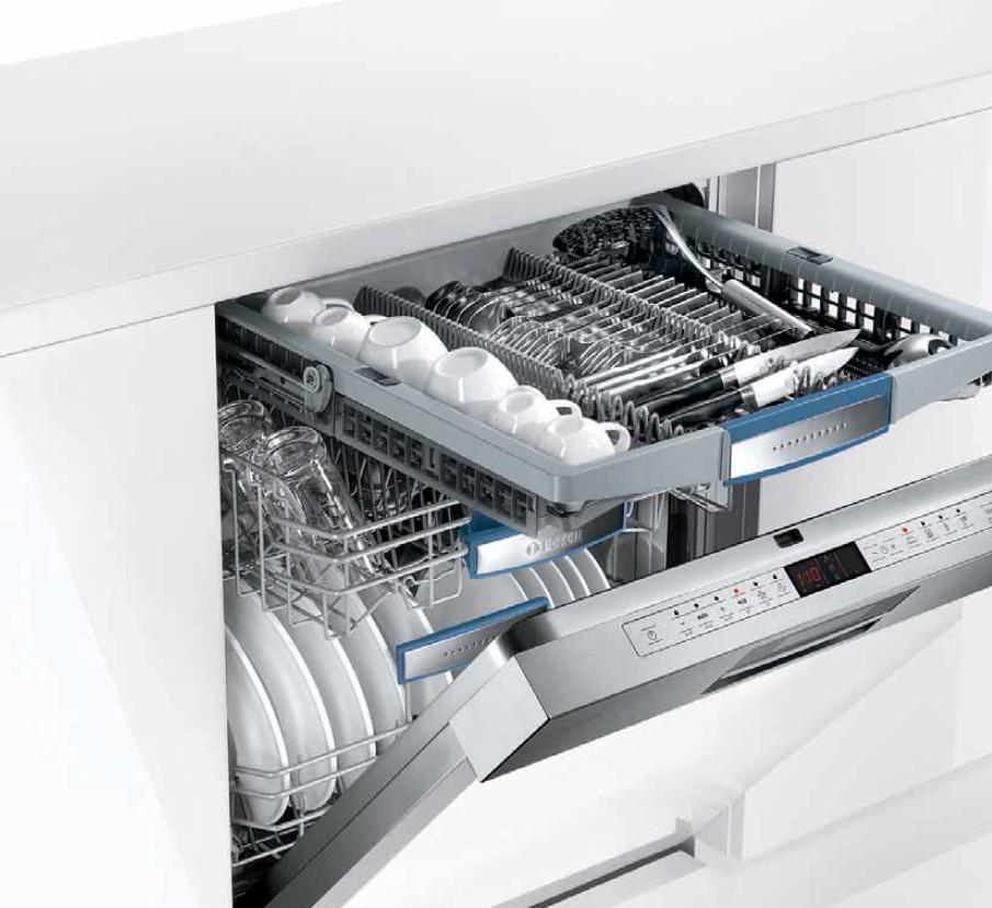 lave vaisselle avec tiroir couverts