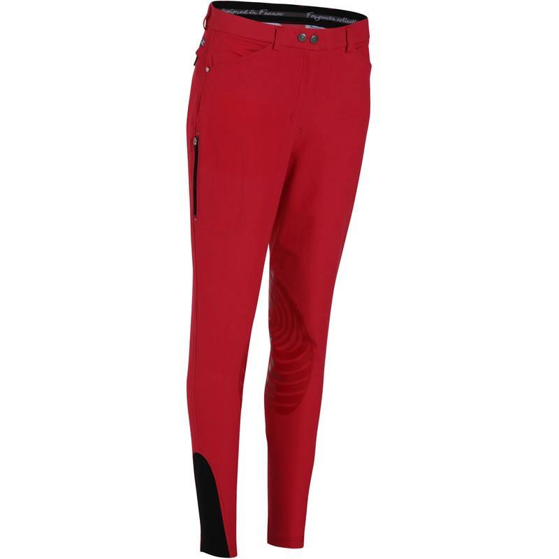 pantalon equitation rouge