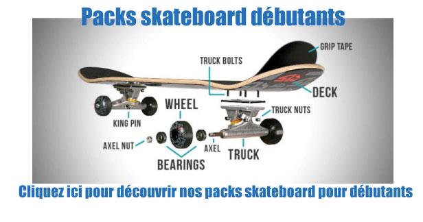 skateboard débutant