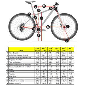taille velo 26 pouces adulte