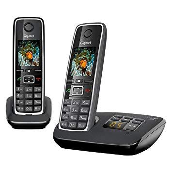 téléphone fixe sans fil avec répondeur