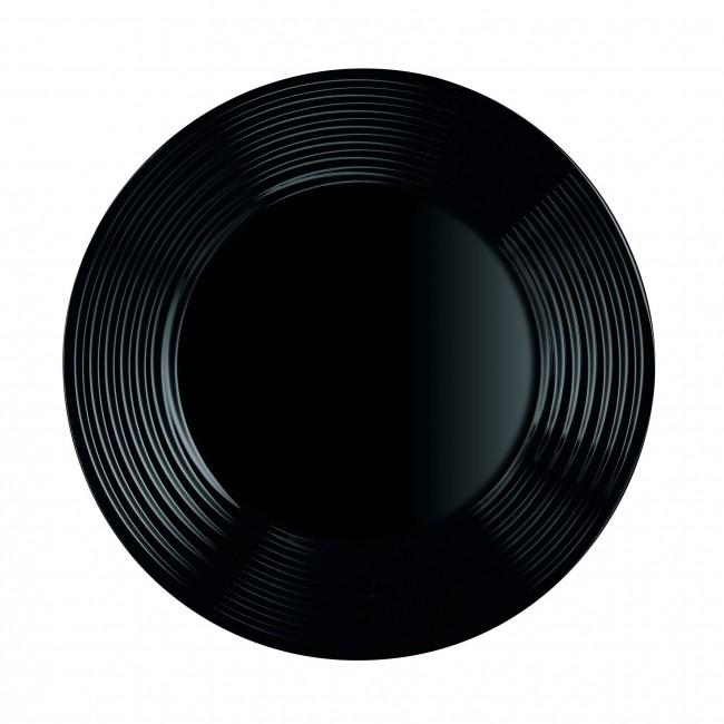 assiette noire