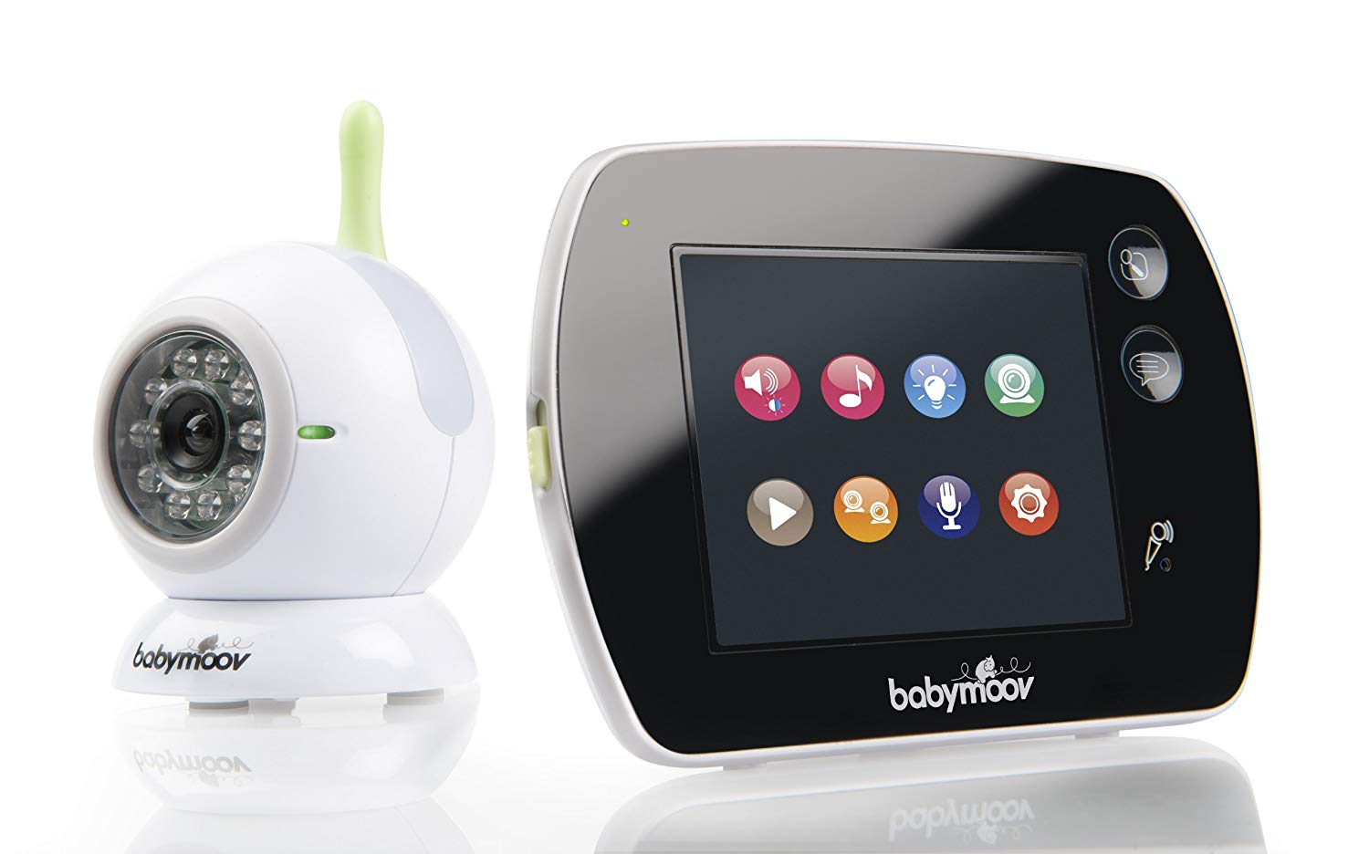 babyphone touch screen de babymoov