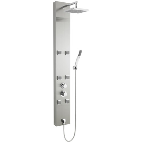 colonne douche hydromassante