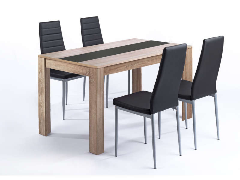 ensemble chaise et table