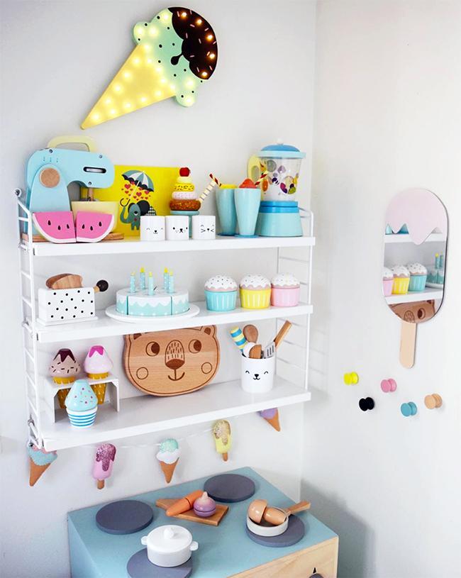 etagere chambre enfant