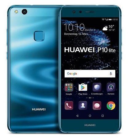huawei p10 lite bleu
