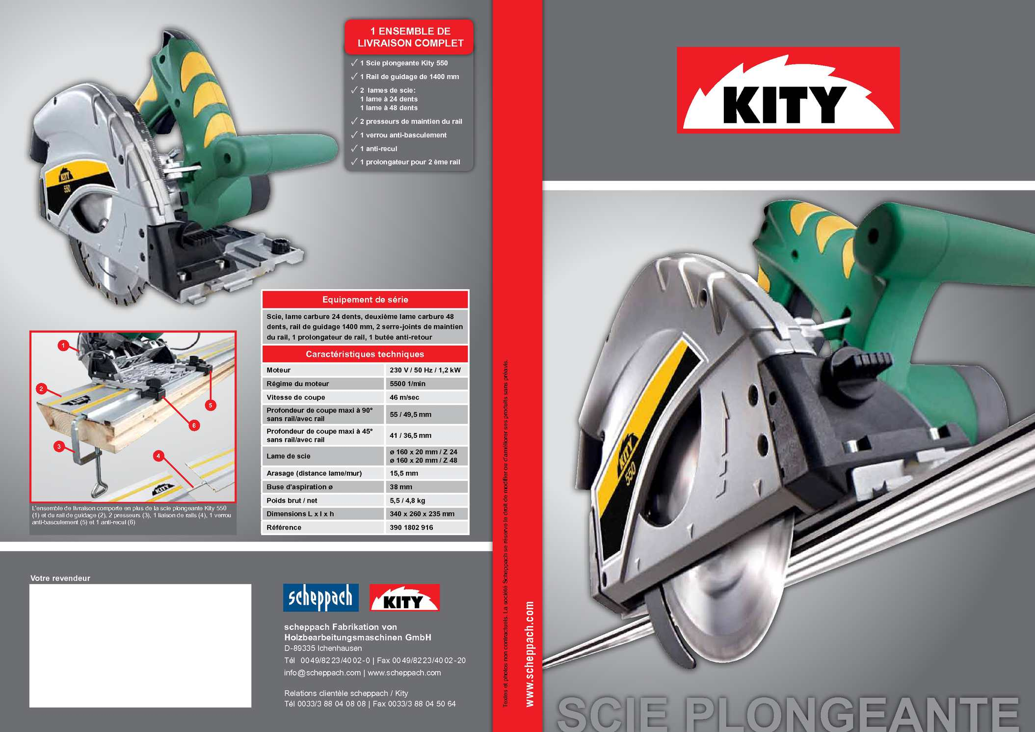 kity 550