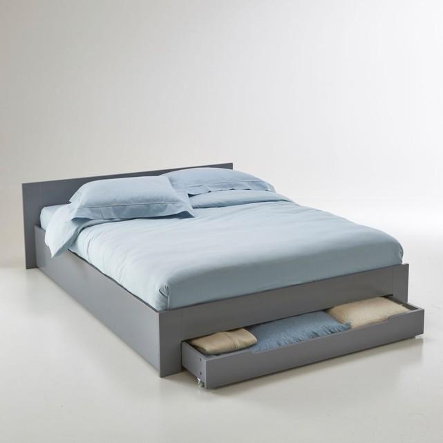 lit 2 places avec tiroirs