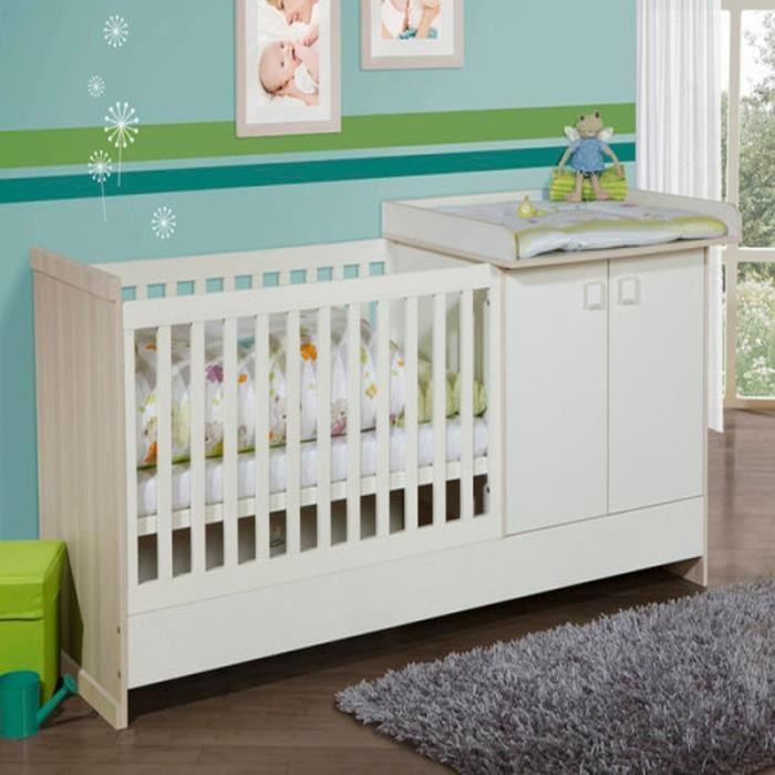 lit bébé table à langer