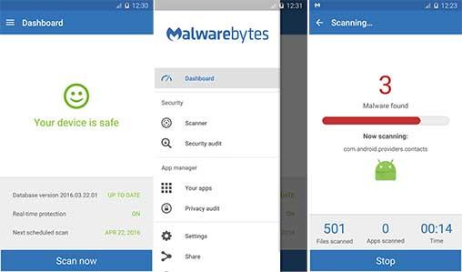 malwarebytes anti malware pour android