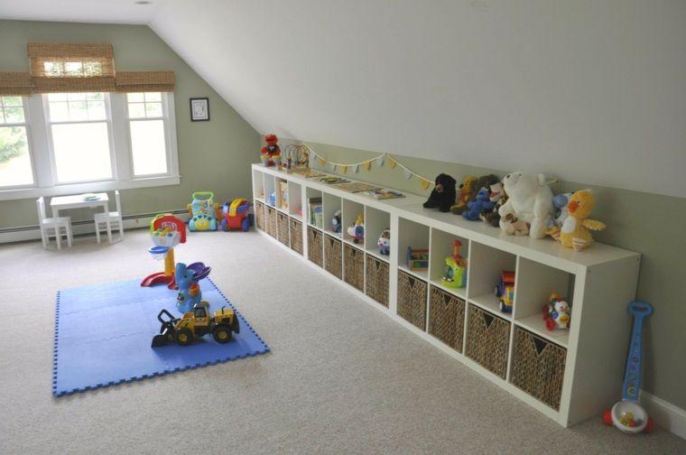 meuble rangement salle de jeux