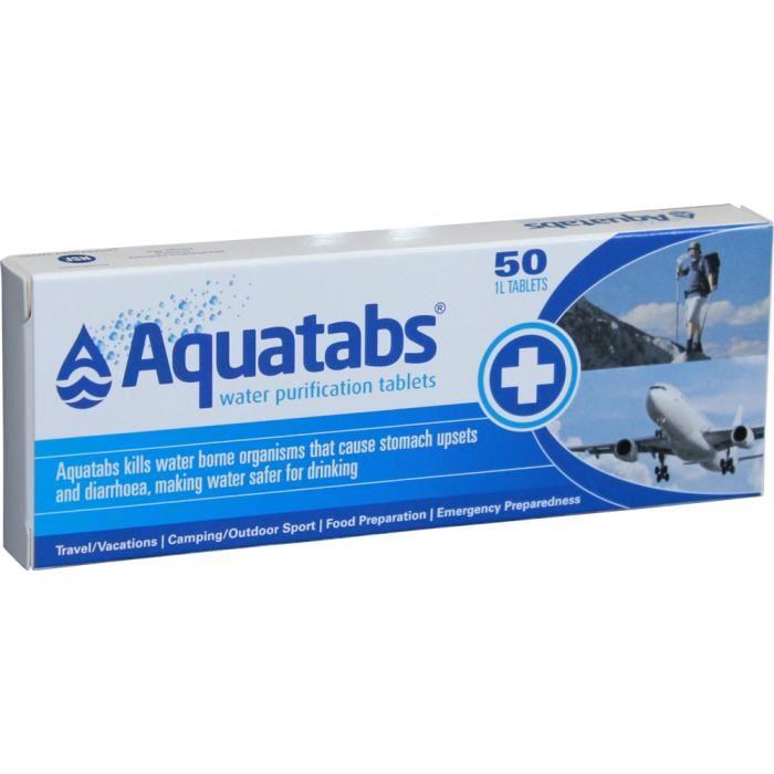pastille eau potable