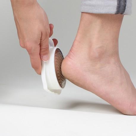 pied blanc