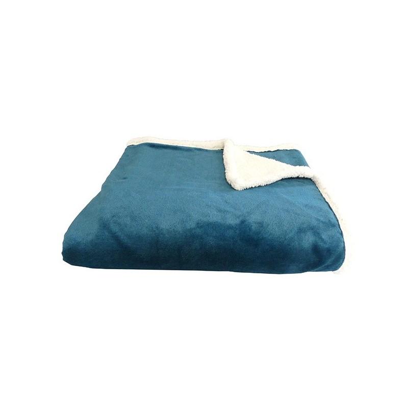 plaid bleu canard