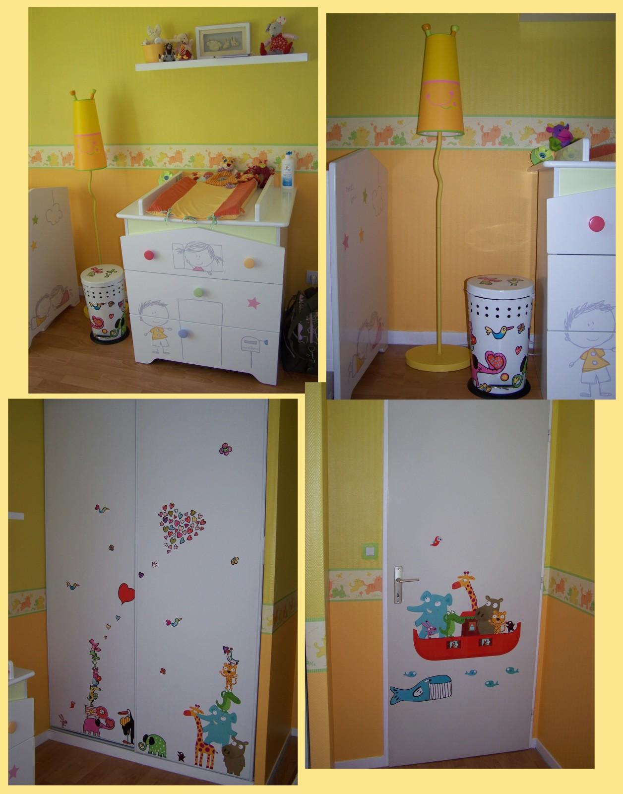 poubelle chambre bébé
