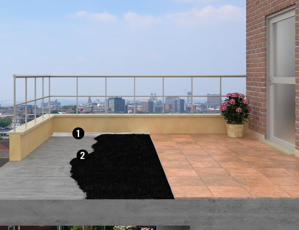 produit étanchéité terrasse exterieure