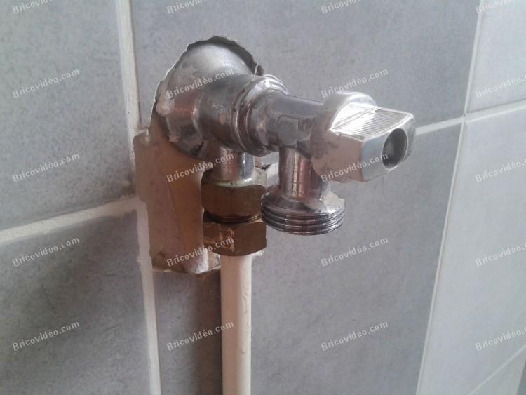 robinet arrivée d eau machine à laver