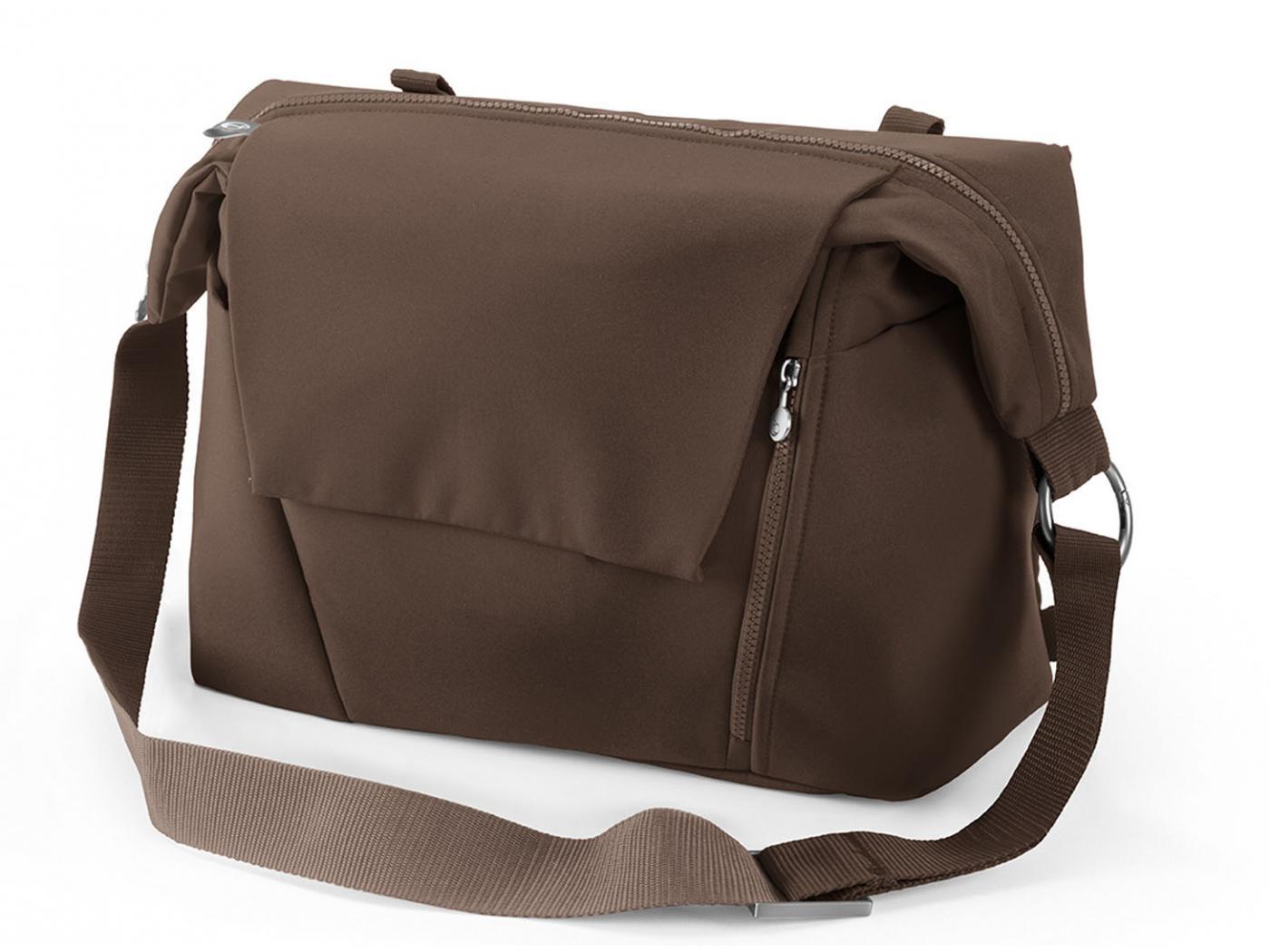 sac a langer marron