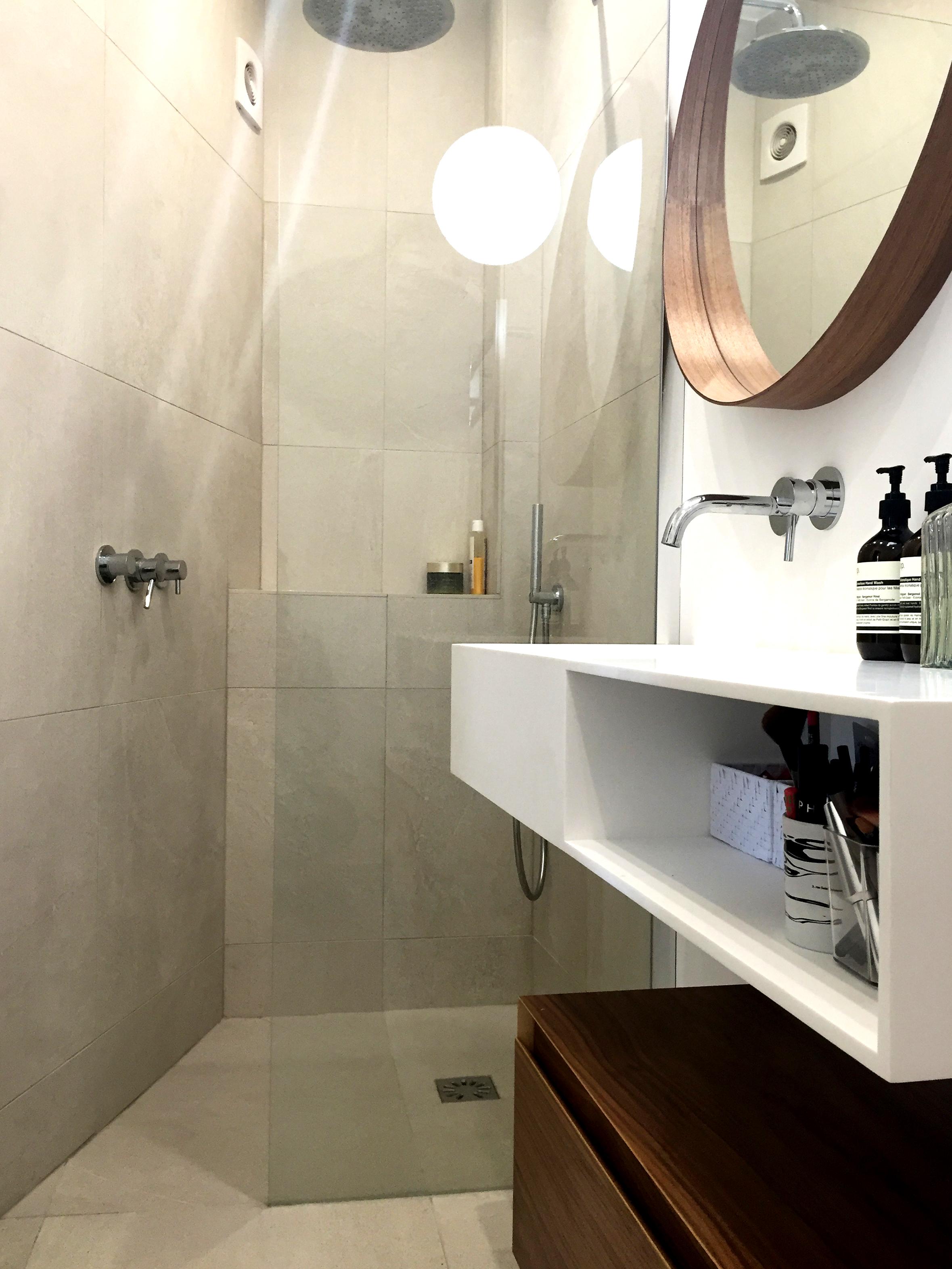 salle de bain studio