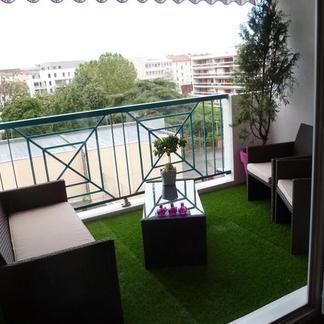 salon de jardin balcon