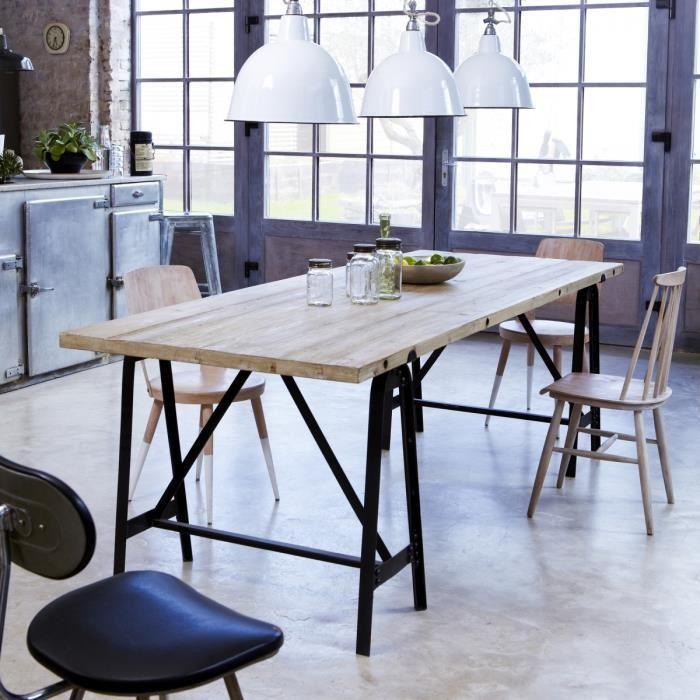 table avec treteau