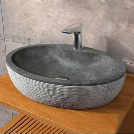 vasque à poser pierre