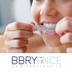 bande blanchissante dent
