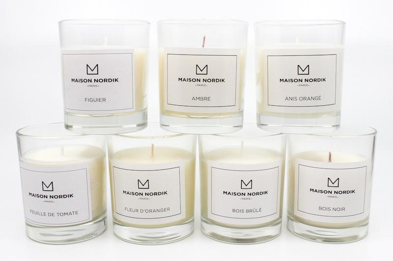bougies parfumées