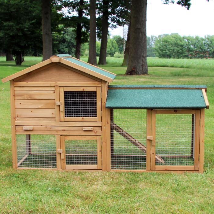 cage a lapin exterieur