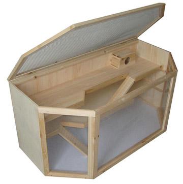cage lapin plexiglass