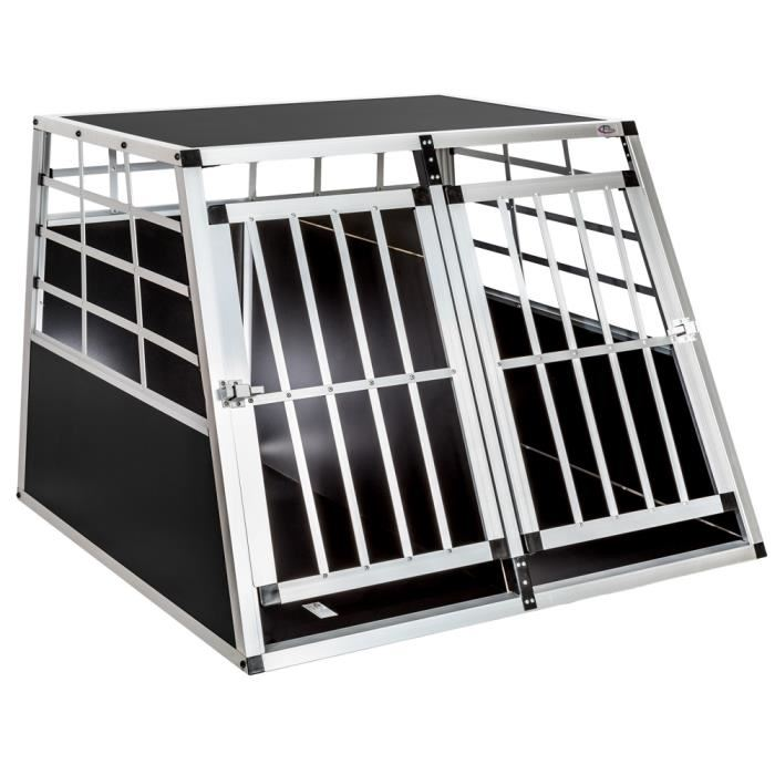 cage transport chien aluminium