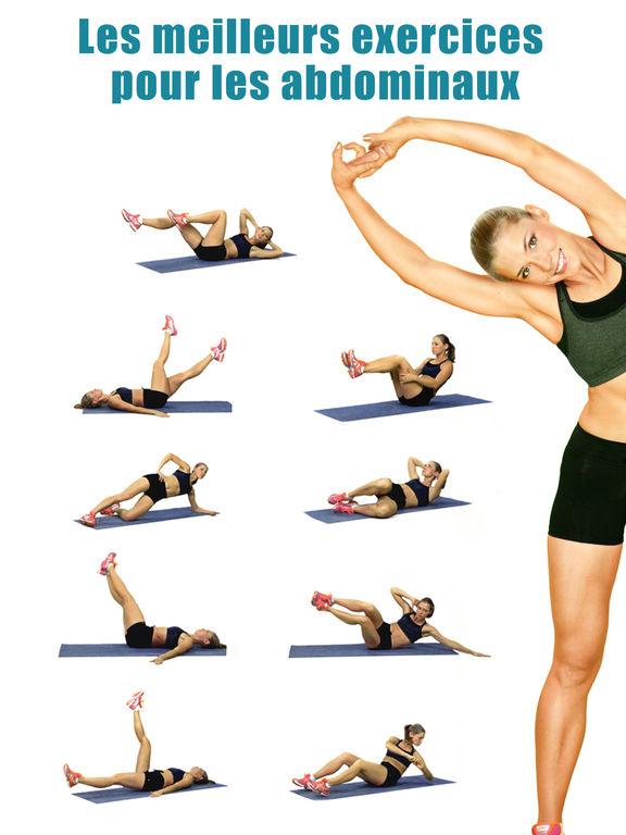 exercice pour les abdos