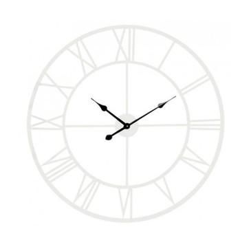 horloge blanche