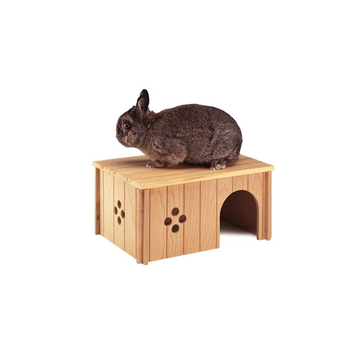 maison pour lapin nain