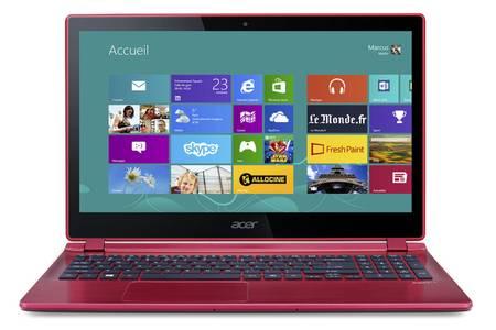 ordinateur portable rouge