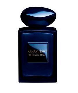 parfum femme bouteille bleue