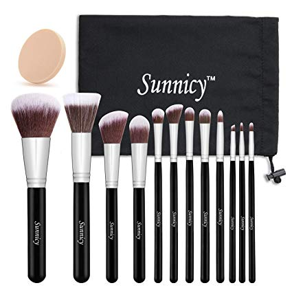 set pinceaux maquillage