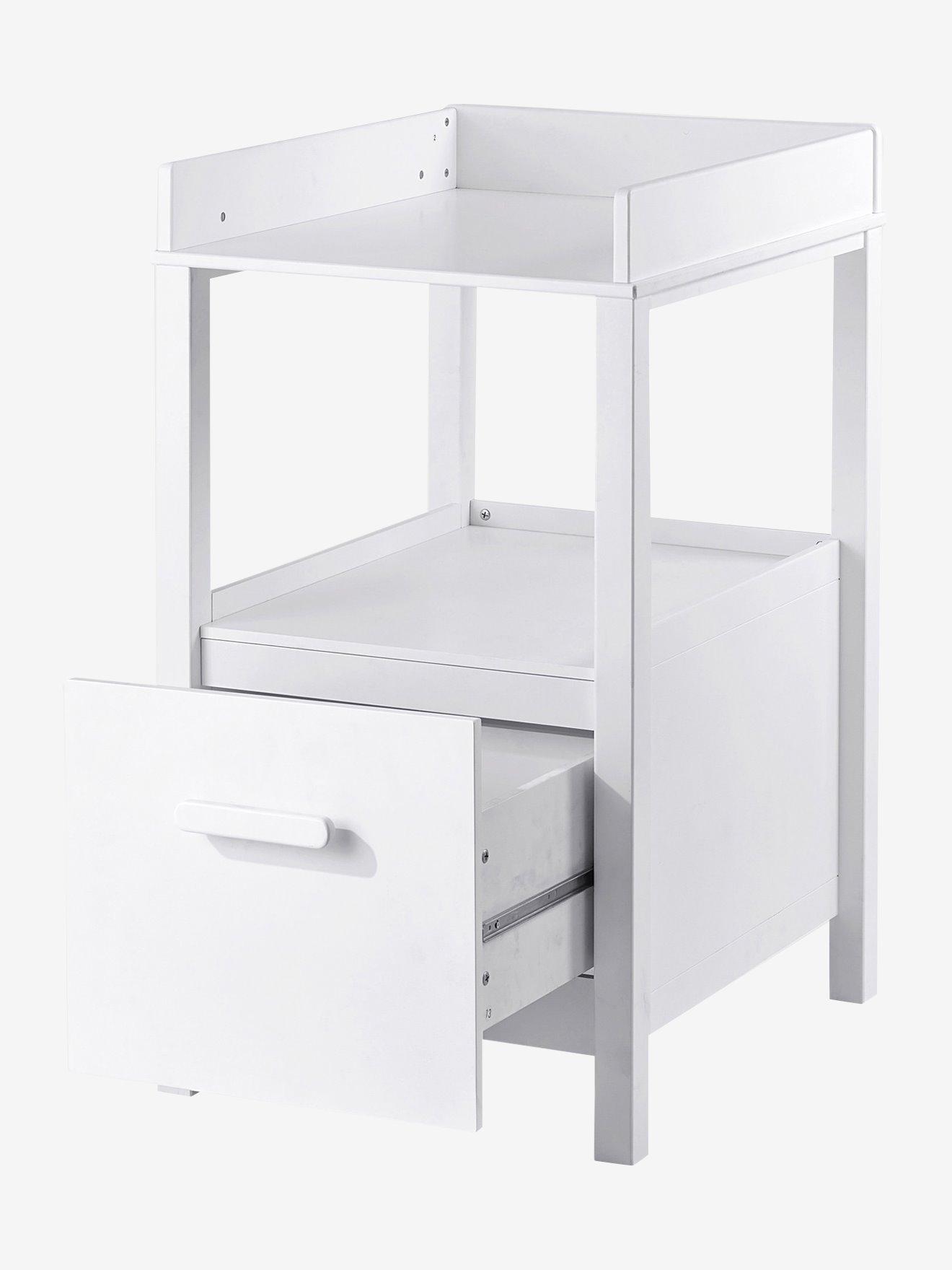 table a langer avec tiroir