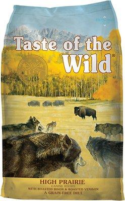 taste of the wild high prairie