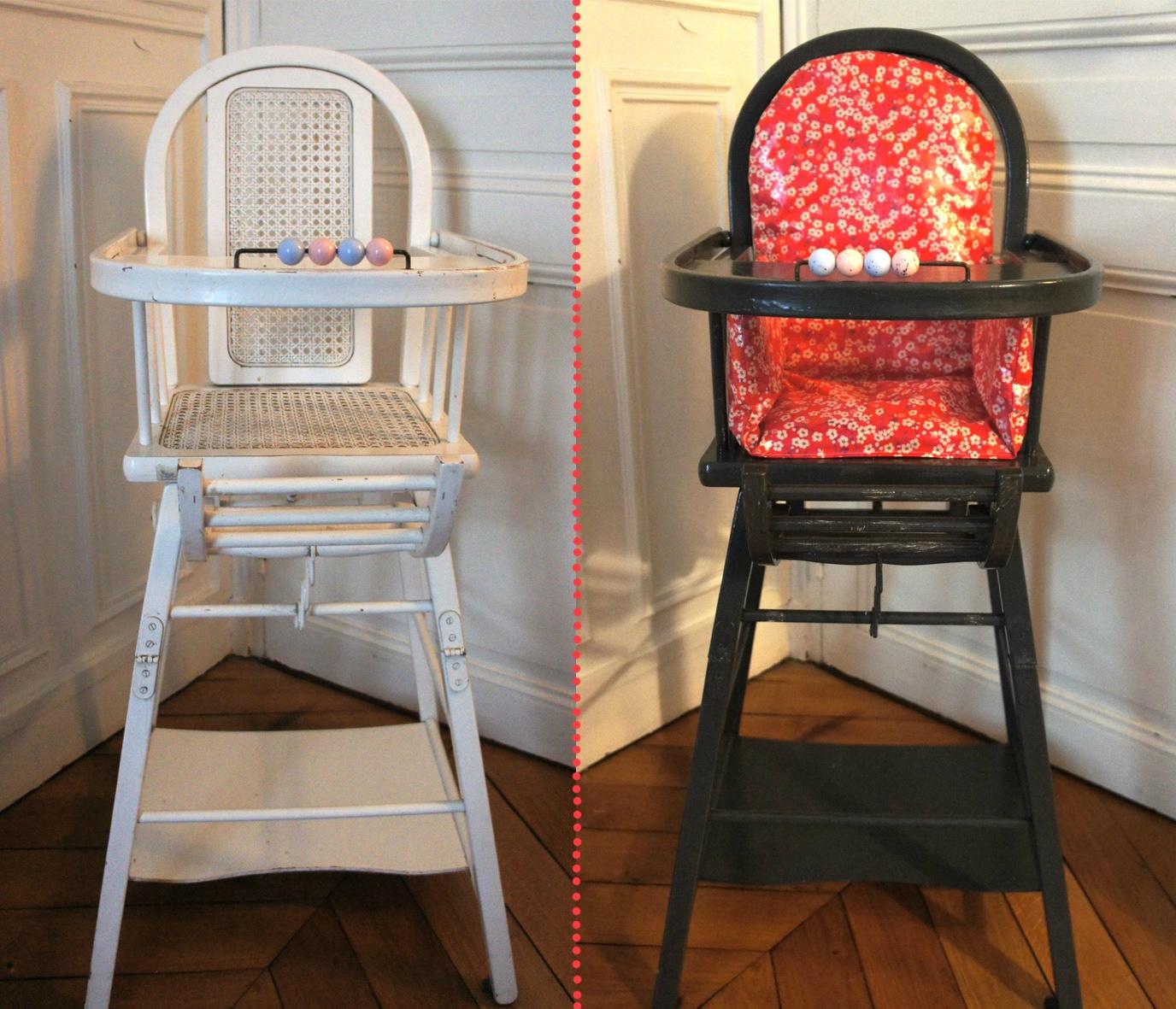 assise pour chaise haute