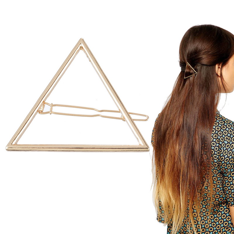 barrette triangle
