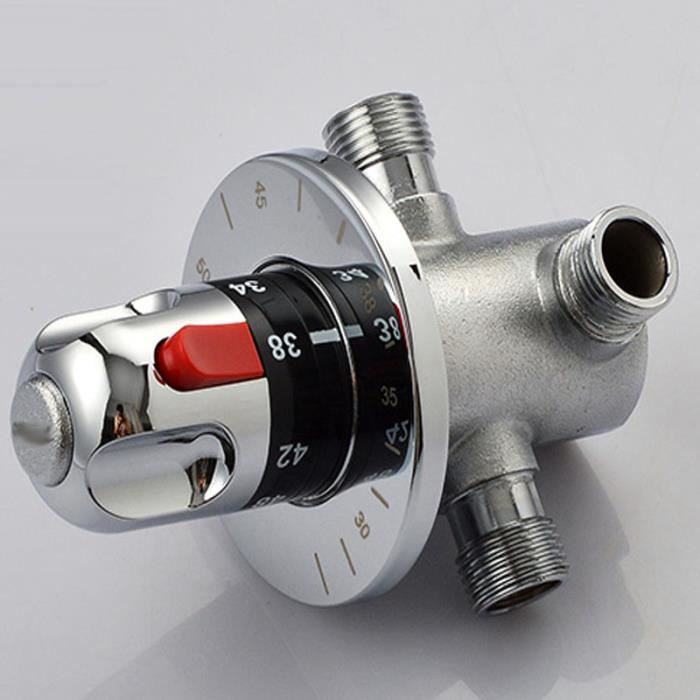 bouton thermostatique douche